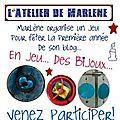Le blog de marlène fête bientôt ses 1 an