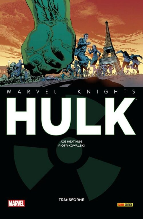 marvel knights hulk transformé