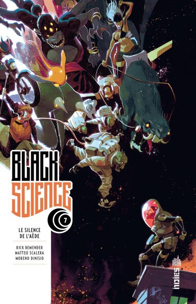 urban indies black science 07 le silence de l'aede