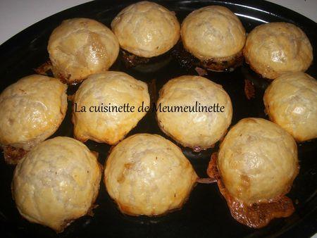 feuilletés au camembert et à la cannelle