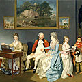 Zoffany - colonel blair and family