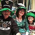 St patrick's day to hard rock cafe nice