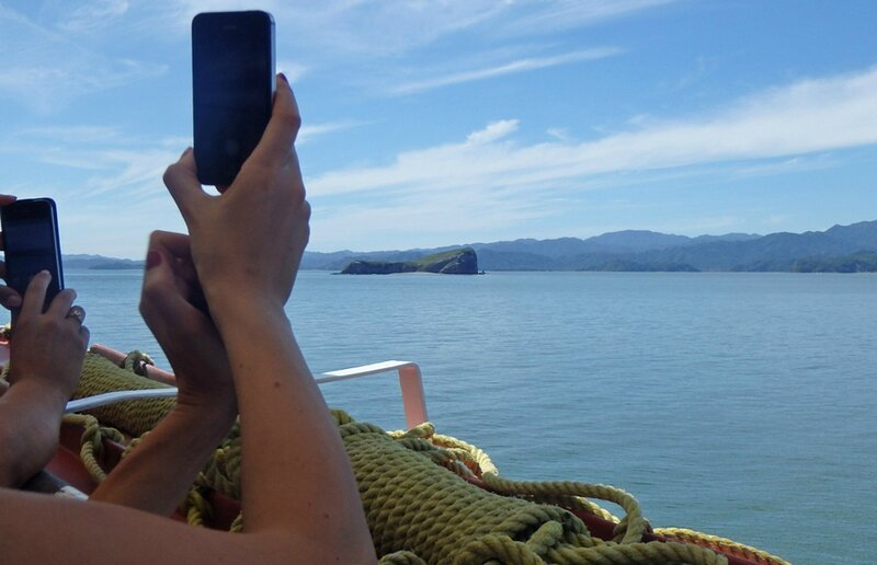 7 CR voyage Monteverde Curu ferry smartphones photos 101214 20