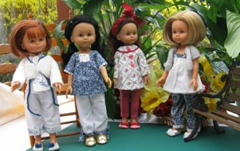 5 4 filles pyjamas