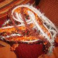 écharpe en tricotin