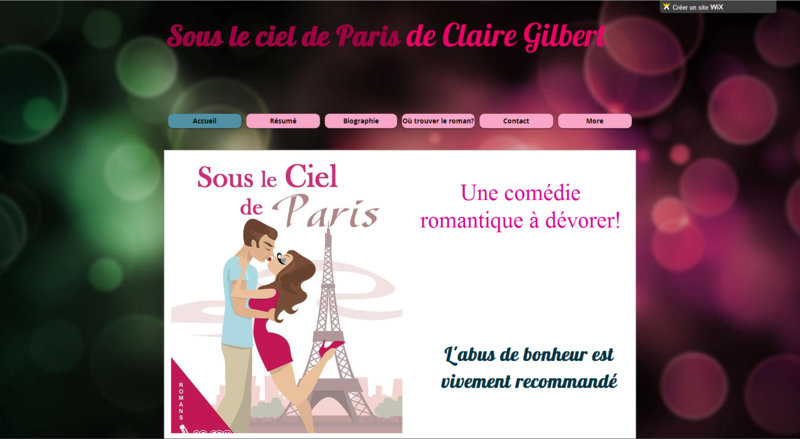 CLAIRE GILBERT - SITE OFFICIEL