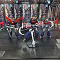 Maquettes Mazinger sur stand Gunpla
