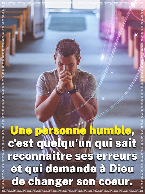 👉 HUMILIE-TOI DEVANT LE SEIGNEUR, IL TE PARDONNERA CERTAINEMENT.