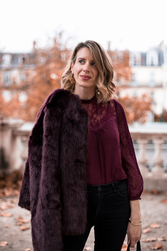 Burgundy lace and faux fur (8)