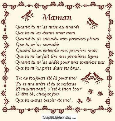 Proverbe Damour Pour Sa Maman Texte Maman