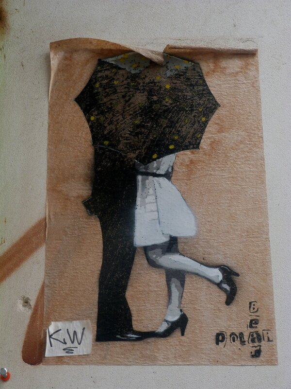 Parapluie Street Art Paris