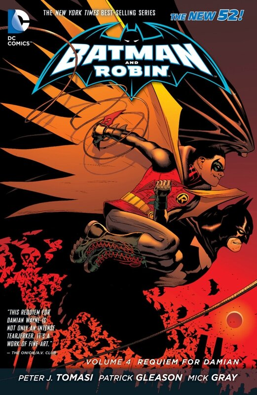 batman and robin vol 4 requiem for damian TP