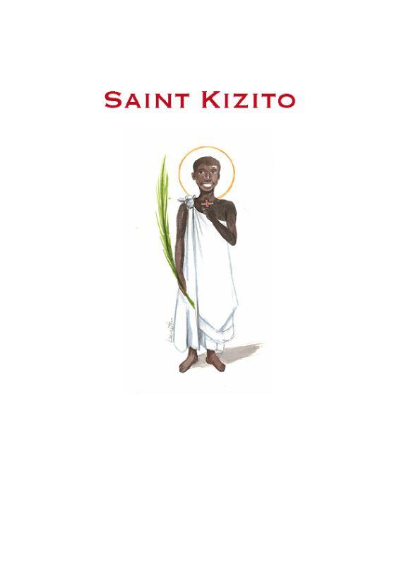 saint Kizito, martyr en Ouganda