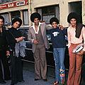Numero un joe dassin, la première télévision française des jackson