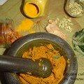 Pâte de curry très parfumé fait maison