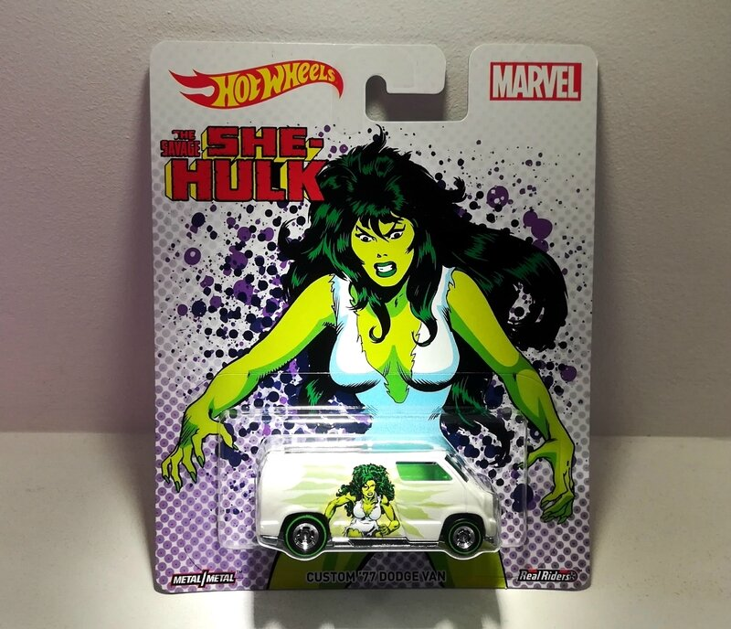 Dodge van custom de 1977 (Marvel) Hotwheels