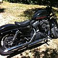 Harley-Davidson Forty-Eight 1200 de 2012