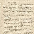 Eugène martel. lettre du 28 septembre 1944.