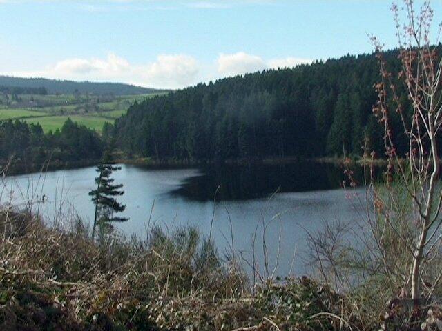 lac depuis Le Quéret