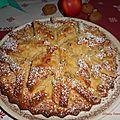 Gâteau pommes noix