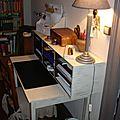 Petit bureau patine ficelle