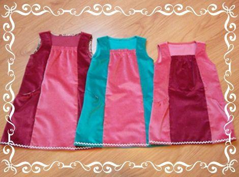 Robes princesses par trois