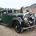 BENTLEY 4 1/4 Litre Light Sports Saloon by Park Ward 1938 Schwetzingen (1)