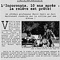 Célébrations - festeggiamenti : 10 ans des fouilles et recherches archéologiques de l'université rennes 2 à l'incoronata - scoop