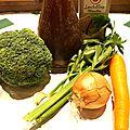 Soupe détox : brocoli céleri et lentilles