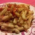 Casarecce tomates-cerises et chapelure dorée-recettes de enzo