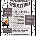 Programme des ateliers du 1er mars 2014