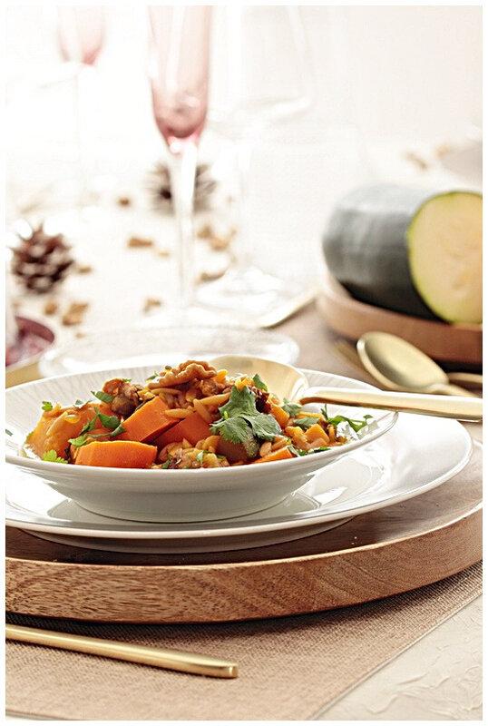 onepotpasta-butternut-courgette-datte-noix-carotte-risetti-omnicuiseur-vapeur-bassetemperature-plat-potimarron-orange