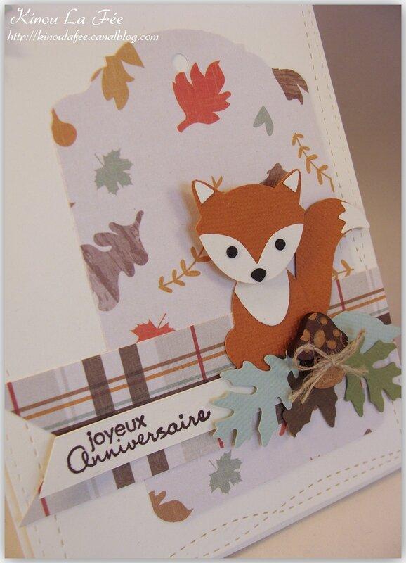 Carte Foxy Friends Automne 2