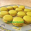 Macarons ganache aux fruits de la passion