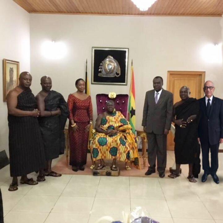 sa majesté Otumfuo Osei tutu II