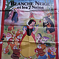 Poster blanche-neige