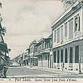 1907 : Rue La Reine - Bureau Montocchio