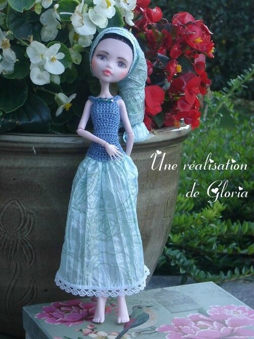 La robe de Mary par Gloria
