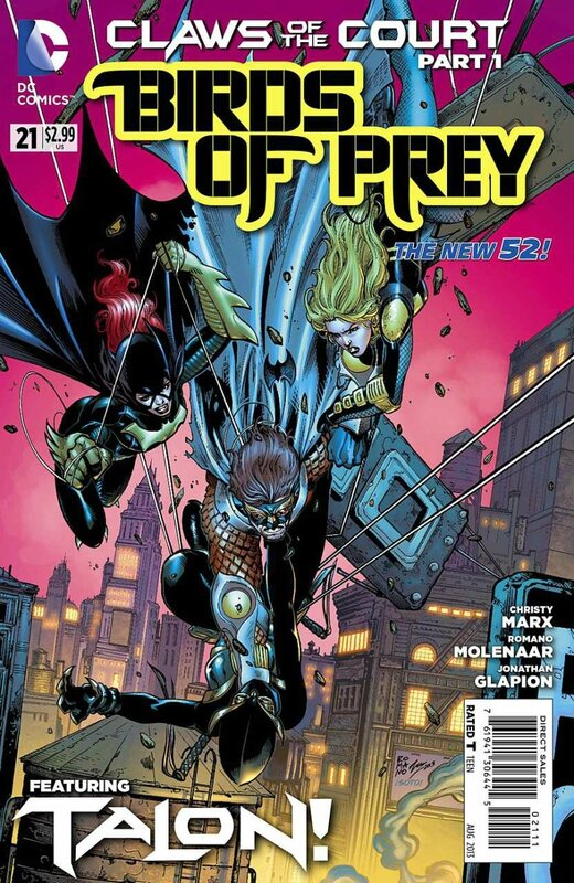 new 52 birds of prey 21