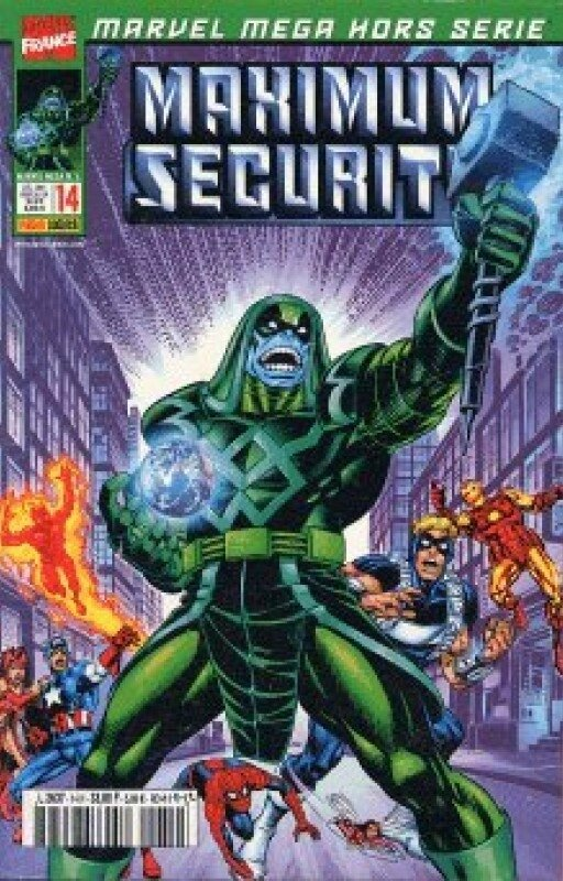 marvel mega hs 14 maximum security