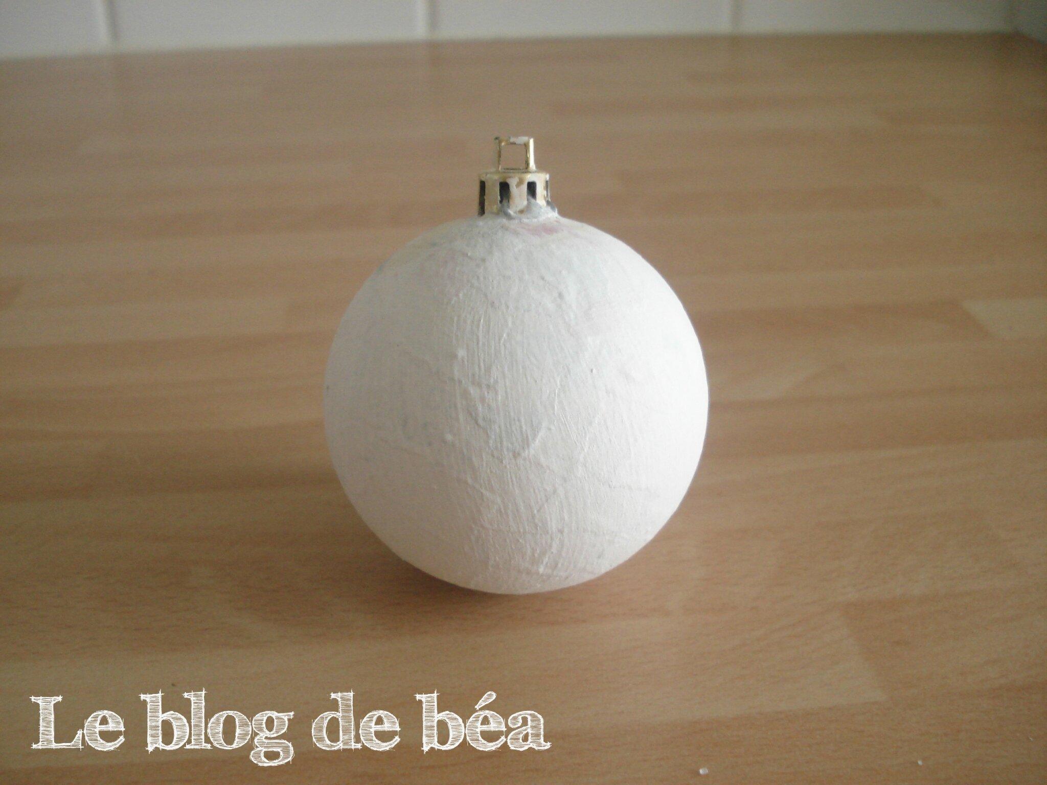 Relookez des boules de Noël