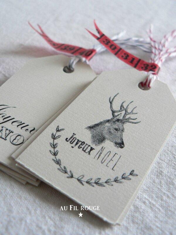 Etiquettes de Noël 2