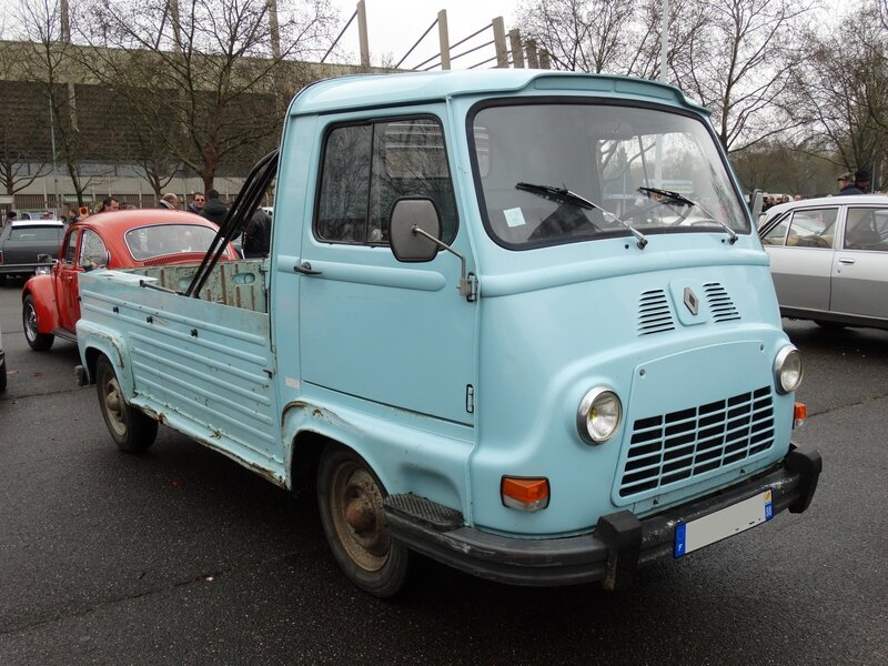 RENAULT Estafette pick-up Strasbourg (1)
