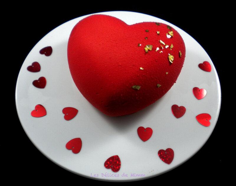 Cœur de Saint-Valentin Tendresse pralinée 2