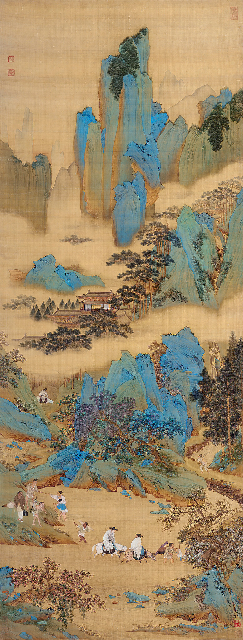 Where The Truth Lies The Art Of Qiu Ying At Los Angeles County Museum Of Art Alain R Truong