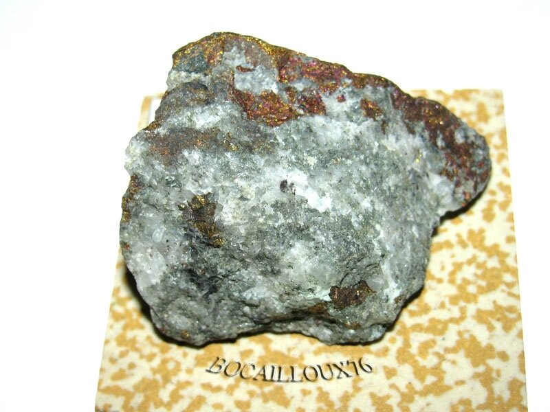 CHALCOPYRITE S205 - Espagne - COLLECTION MINERAUX