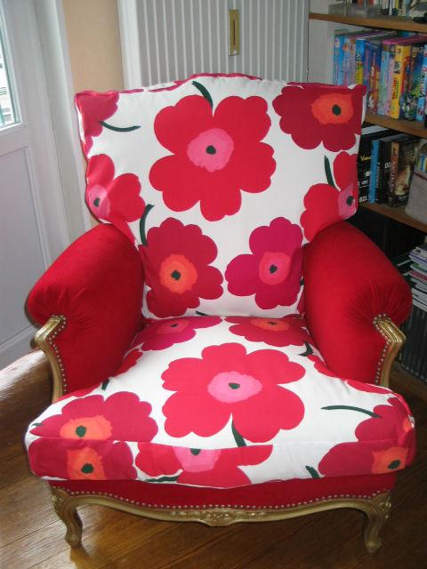 fauteuil tissu marimekko 1