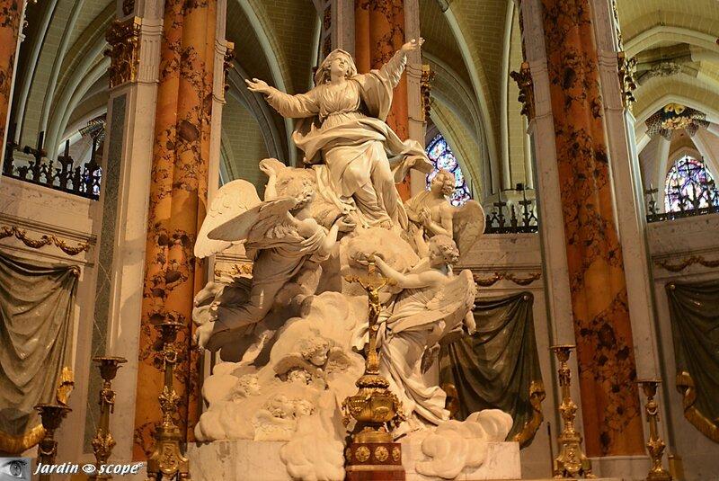 Cathédrale de Chartres - Allégorie de l'Assomption de Bridan