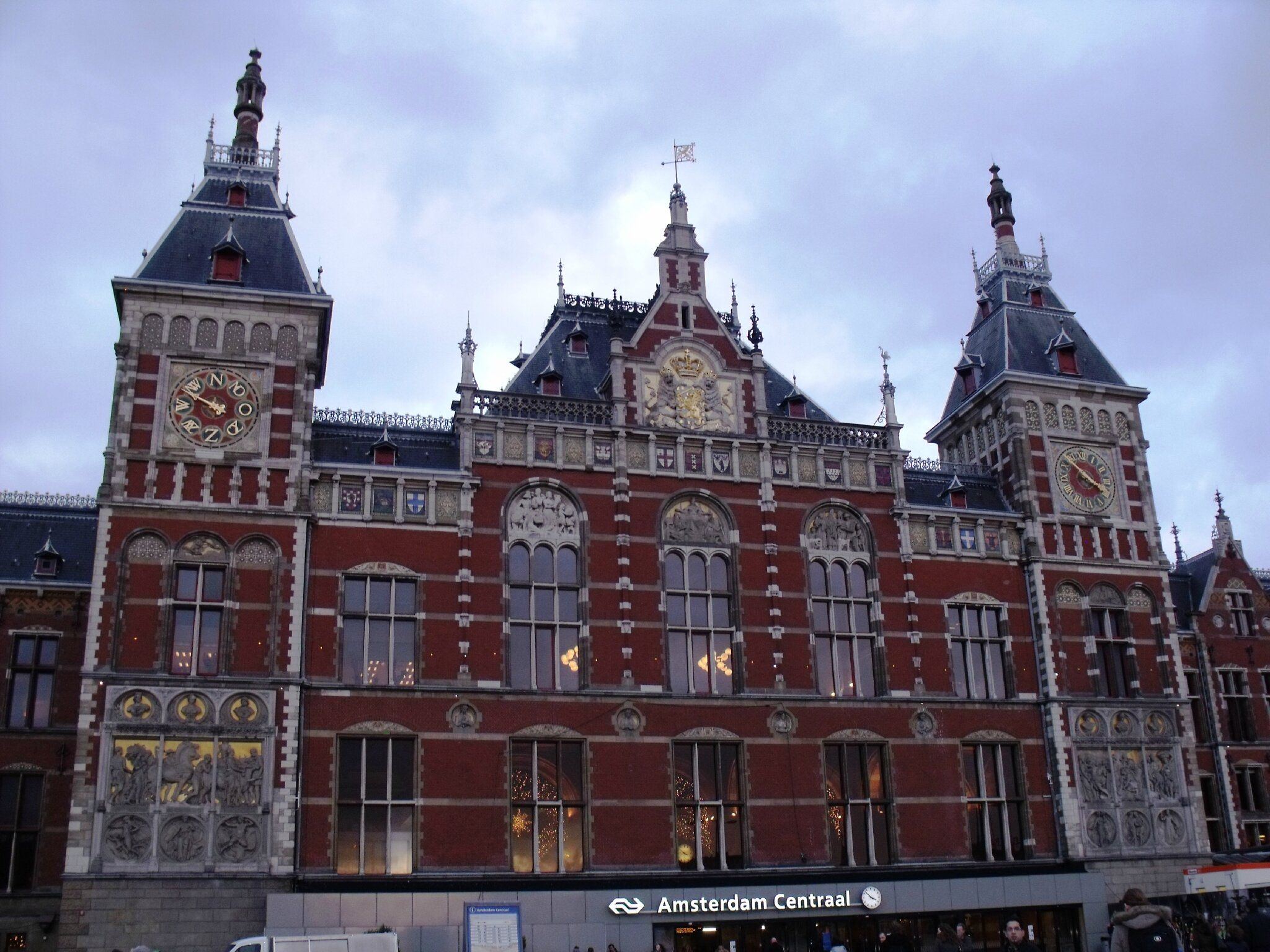 Amsterdam Ceentral (Pays-Bas)