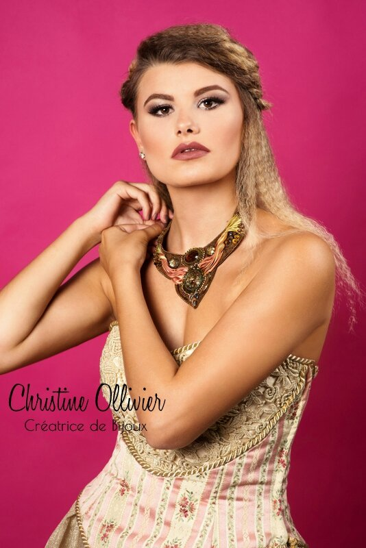 Plastron collection Romantique